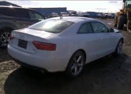 damaged audi for sale sell 2009 audi a5 coupe damaged salvage repairable salvage