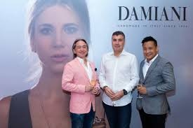 david cox damiani hosts an exclusive party for the launch of its sparkling