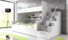 chambre lit superposé chambre avec lit superpose lit mezzanine avec bureau lit bureau et