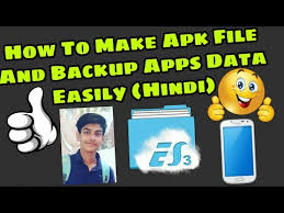 backup apk without root how to make apk file and backup app data easily in android without