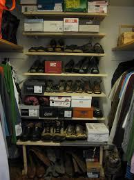 Shoe Shelves For Wall Simple Wall Shoe Rack Using Babord Ikea Hackers Ikea Hackers