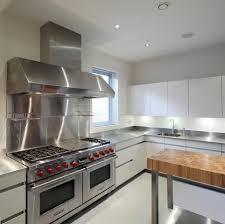 Pro Kitchen Design Steel Worktops For Domestic Pro Kitchen
