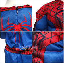 Deluxe Kids Halloween Costumes Disney Marvel Spider Man 2 Muscle Deluxe Boys Kids Halloween