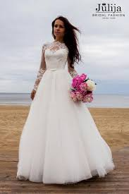 wedding dresses fluffy vintage princess wedding dress with lace sleeves