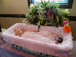 baby casket pray for lilly a review the viewing funeral and burial