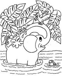 elephant printable coloring pages coloring printable