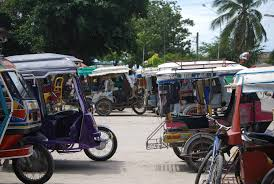 philippines pedicab teeny tiny moalboal on cebu island in the philippines travels