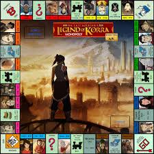legend korra book monopoly board bellatytus deviantart