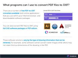ultimate guide pdf to dxf conversion