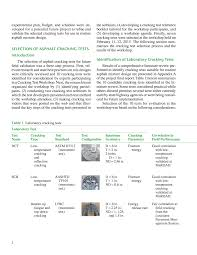 field validation of laboratory tests to assess cracking resistance