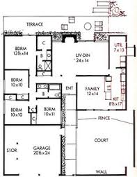 build an eichler ranch house 8 original design house plans