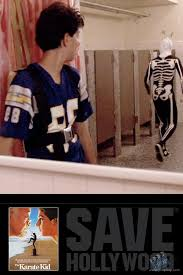 Karate Kid Skeleton Costume Daniel U0027s Ralph Macchio Chargers Jersey Wardrobe From The Karate