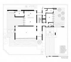 first floor plan of contemporary tropical house design house