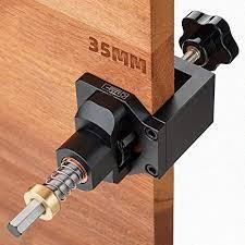 kitchen cabinet door hinge drill bit bi dtool 35mm hinge drilling jig guide woodworking