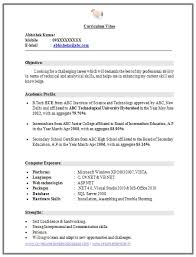 resume sles for freshers ece engineers listmachinepro com