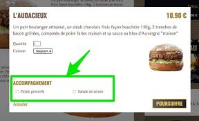 annulation commande cuisine upsell site commande restaurant livepepper restoconnection