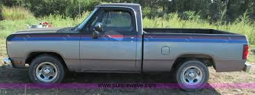 dodge ram 1988 1988 dodge ram d150 truck item e2141 sold wednes