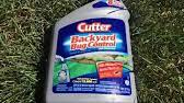 Cutter Bug Free Backyard Mosquito Control Spray Cutter Backyard Bug Control Youtube