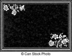 theme black rose black rose frame ornamental frame with roses solemn floral