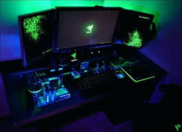 Desk With Computer Built In Computer Built Into Desk Build Computer Into Desk Computer Desk