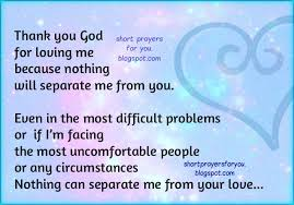 thank you god for loving me prayer prayers for you