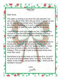 letters from santa claus from santa claus from the pole