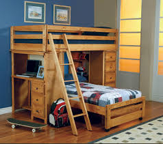 Bunk Beds Kids Furniture Baby Furniture Bedrooms Bedroom - Oak bunk beds for kids
