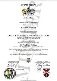 24 best degree u0026 certificate directory degree honorary