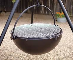 Cowboy Firepit Cauldron Pit And Grill