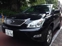 toyota harrier buy 2008 toyota harrier badged lexus black with leather trim