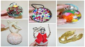 six cheap and easy diy christmas ornaments youtube