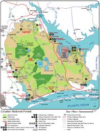 Pa State Game Lands Maps by Croatan National Forest North Carolina National Forests