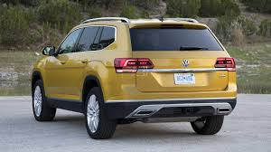 volkswagen atlas trunk 2018 volkswagen atlas second drive the all american cuv newcomer