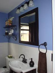 black and blue bathroom ideas home decorations