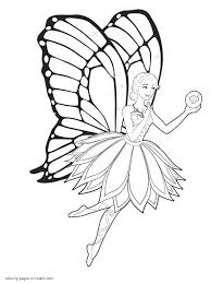 fairy princess coloring pages to print