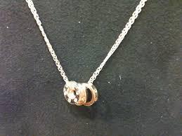 cartier love necklace images Cartier love necklace 18k pink gold 18k white gold set jpeg