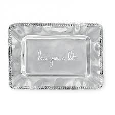 engraved tray rectangular engraved tray with pearl border you a lot