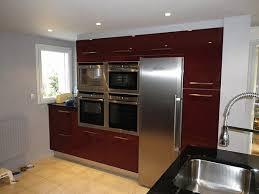 cuisine couleur bordeaux brillant cuisine cuisine couleur bordeaux brillant beautiful cuisine moderne
