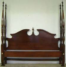 Antique King Bed Frame Antique Mahogany King Size Rice Bed At Antique Furniture Us