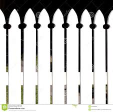 pretty cottage style white picket fence stock photo image 42242062