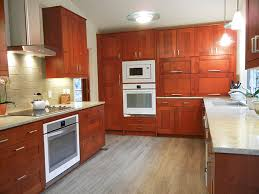 IKEA Adel Medium Brown Cabinets Custom Appliance Garage Ikeahack - Medium brown kitchen cabinets
