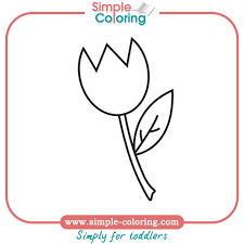 tulip coloring pages animals free coloring pages