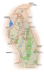 Map Of Tanzania Map Of Tarangire National Park Tanzania C Expert Africa