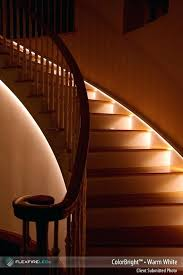 led strip lights for stairs stair lighting ideas led strip light stairway lighting exterior