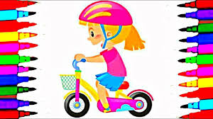 hello kitty bicycle coloring pages motorbike coloring pages new