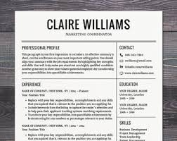 modern resume templates free resume templates professional marketing by theshinedesignstudio