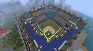minecraft sports stadium baseball stadium minecraft project