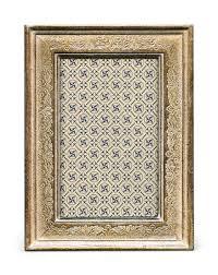 cavallini frames cavallini papers florentine frame 5 by 7in verona silver ebay