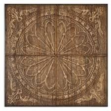 wood medallion wall 19 best on wood images on panel on wood