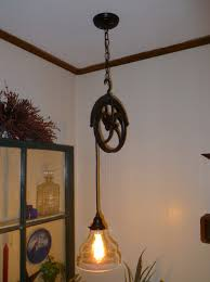 pulley system light fixtures barn pulley light fixture home design ideas
